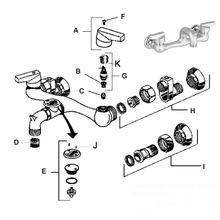 service sink faucet series 8340 8341
