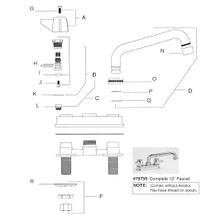 Bar & Laundry Faucet Model 0094
