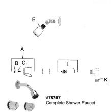 Two Handle Shower Cabinet Model 47-900