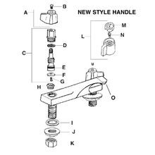 Regular Pattern & Housing Type Centerset Faucet