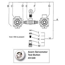 Air-Trol Metering Servo-Motor Assy. Drawing 9955-005-001