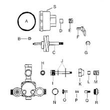 Shower Valve Breakdown Models M-10-C & M-10-CST & M-10-E