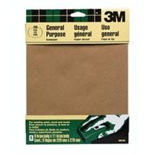 COURSE GRIT SANDPAPER (4/PACK)
