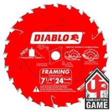 7-1/4 24 TH FRAMING CIRC SAW BLADE WOOD