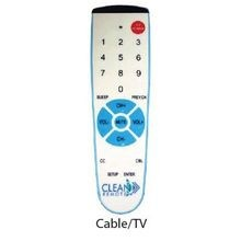 CLEAN REMOTE CABLE BOX TV