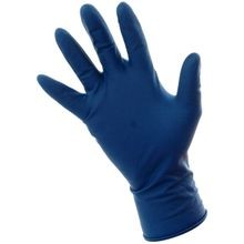 FULL DAY HD BLUE LATEX GLOVES XL