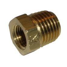 3/4 X 1/2 BRASS HEX BUSHING