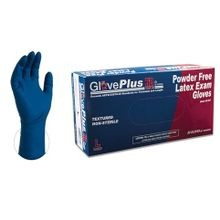 FULL DAY HD BLUE LATEX GLOVES M