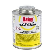 PVC LO-VOC CLEAR CLEANER 16 OZ