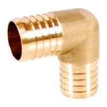 1/2 IN LF BRASS PEX ELBOW