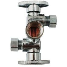 QRT TURN 3-WAY DUAL OUTLET VALVE COP