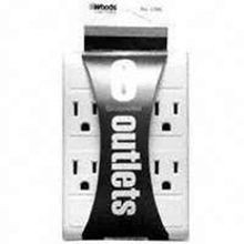 6-OUTLET GROUNDED ADAPTER