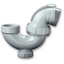 1-1/2 Swivel Joint P-Trap w/ Clean Out