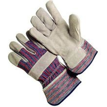 LEATHER PALM SAFETY GLOVES