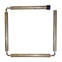 FLEXIBLE ANODE ROD W/ HEX PLUG 42 IN