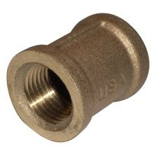 1 IN BRASS COUPLING LF