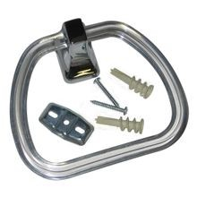 Towel Ring W/clear Ring (Cp)
