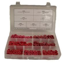 DOMESTIC RED WASHER ASSORTMENT