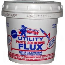 SELF CLEAN PASTE FLUX 1 LB
