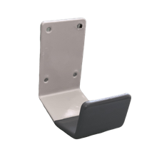Arm Door Pull Gray Antimicrobial Coating