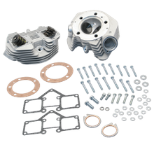 "S&S<sup>®</sup> Super Stock<sup>®</sup> 3-5/8"" Bore O-Ring  Style Dual Plug Cylinder Head Kit For 1966-'78 HD<sup>®</sup> Big Twins - Natural Aluminum Finish"