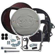 Air Cleaner Kit for 2014-'17 Indian<sup>®</sup> Models with S&S<sup>®</sup> Logo Chrome Cover