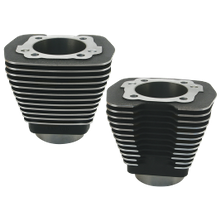 "3-5/8"" Bore Cylinders for 1984-'99 Big Twins with 96"" Engines with Stock Heads - Wrinkle Black"