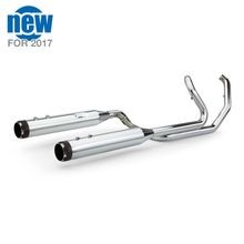 El Dorado - Mk45 Muffler/Header Package - 50-State legal, with Thruster End Caps for 2009-'16 HD<sup>®</sup> Touring Models - Chrome