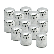 12 Pack of Chrome 1999-'16 HD<sup>®</sup> Big Twins & X-Wedge<sup>™</sup> Oil Filter