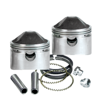 "Stroker Pistons for 1972-'85 HD<sup>®</sup> Sportster<sup>®</sup> Models - 3-3/16"" +.020"
