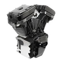 T124 Black Edition Longblock Engine for Select 1999-'06 HD® Twin Cam 88®, 95®, 103® Models - 585 GPE Cams