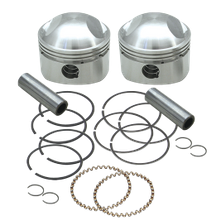 "S&S<sup>®</sup> Forged Stock Bore Stroker Pistons For 1936-'84 OHV Engines - 3-7/16"" +.040"