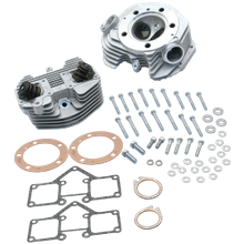 "S&S<sup>®</sup> Super Stock<sup>®</sup> 3-5/8"" Bore Band Style Dual Plug Cylinder Head Kit For 1979-'84 HD<sup>®</sup> Big Twins - Natural Aluminum Finish"