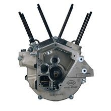 "S&S<sup>®</sup> Assembled Short Block, 3-1/2"" Bore, 4-1/4"" Stroke for 1992-99 Big Twins, EFI Compatable - Natural"