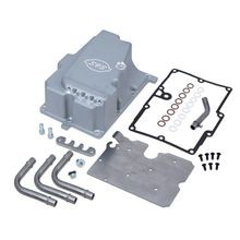 Oil Supply Line Installation Kit for 2006-'17 HD® Dyna® Models - Silver