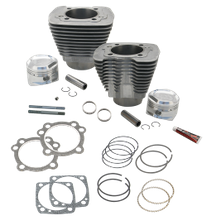 "89"" Intermediate Compression Sidewinder Big Bore Cylinder and Piston kit  for 1986-'16 HD<sup>®</sup> Sportster<sup>®</sup> and  1994-'02 Buell<sup>®</sup> Models With S&S Super Stock<sup>®</sup> Heads - Natural"