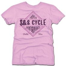 S&S<sup>®</sup> Ladies Diamond T-Shirt - Pink