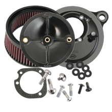 S&S<sup>®</sup> Stealth Air Cleaner Kit Without Air Cleaner Cover for 1999-'06 HD<sup>®</sup> Carbureted Big Twins and 2007-'10 Softail<sup>®</sup> CVO<sup>®</sup> Models
