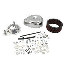 S&S<sup>®</sup> Teardrop Air Cleaner Kit For S&S<sup>®</sup> Super E & G Carburetors For 2004-'16 HD<sup>®</sup> Sportster<sup>®</sup> Models.