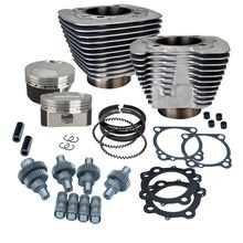 Hooligan Kit - 1200cc to 1250cc for 2000-'16 HD® Sportster® Models - Silver