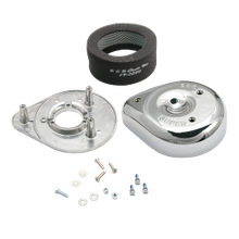 S&S<sup>®</sup> Teardrop Air Cleaner Kit For S&S<sup>®</sup> Super B Carburetors For 1955-'84 HD<sup>®</sup> Big Twins and 1957-'85 Sportster<sup>®</sup> Models.