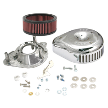 "S&S<sup>®</sup> Teardrop/Slasher Air Cleaner Kit For S&S<sup>®</sup> Super E & G Carburetors For S&S<sup>®</sup> 4-1/8"" Bore V and T-Series Engines"