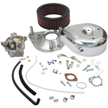 Super E Partial Carburetor Kit for 1936-'84 Big Twin Models, Standard Tanks (no manifold and mounting hardware included)