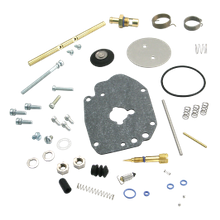 Super G, Carburetor Master Rebuild Kit, Regular Gas Inlet