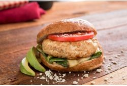 All Natural Turkey Craft Burger