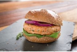 Salmon Craft Burger
