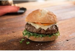 Black Angus Beef Steak Craft Burger