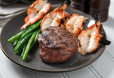 Filet Mignon & Shrimp Skewer