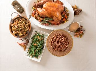 Gourmet Holiday Turkey Dinner