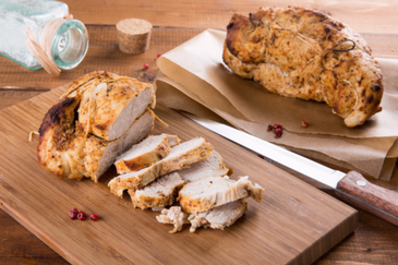 USDA-Certified Bone-In Organic Turkey Breast